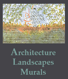 Architecture, Landscapes, and Mural Works of Art page