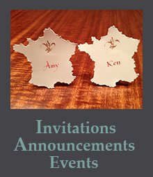 Invitations, Announcements, and Events projects' page